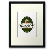 Murphy's Law Framed Print