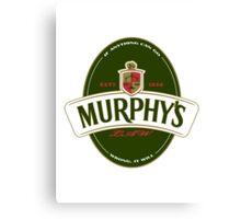 Murphy's Law Canvas Print