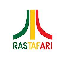 Rasta-Atari Photographic Print