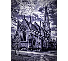 Dramatic gothic style church Photographic Print