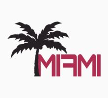Miami Beach Palm Logo by Style-O-Mat