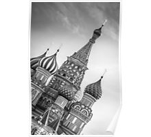 St Basil's, Red Square, Moscow Poster