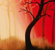 Red Forest by Tabitha Taylor