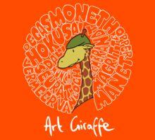 Art Giraffe- Circle of Art Kids Clothes