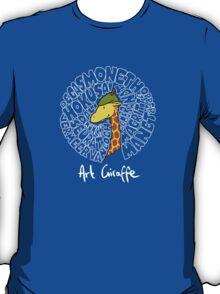 Art Giraffe- Circle of Art T-Shirt