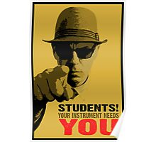 Your Instrument Needs YOU Poster