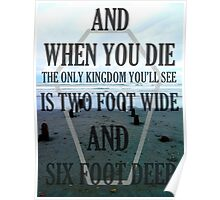 the only kingdom youll see Poster