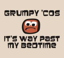 Grumpy 'cos it's way past my bedtime by Rixz