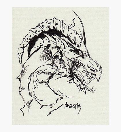 Dragon Photographic Print