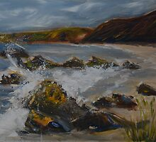 Findlater Beach by Sue Arber