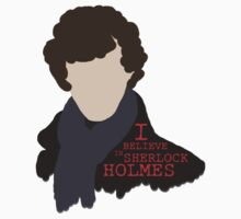 I Believe in Sherlock Holmes Kids Clothes