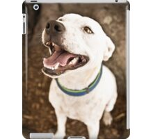 Staffy Under Tree *PROCEEDS TO CHARITY* iPad Case/Skin