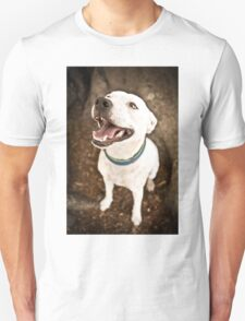 Staffy Under Tree *PROCEEDS TO CHARITY* Unisex T-Shirt