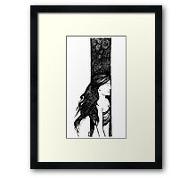 Black & White 001 Framed Print