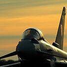 Typhoon Sunset by David Brooks