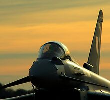 Typhoon Sunset by David Brooks