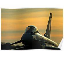 Typhoon Sunset Poster