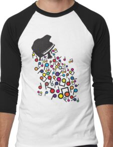 Flabby_Expression Men's Baseball ¾ T-Shirt