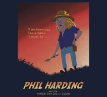 Phil Harding - Time Team by Mark Barnes