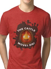 The Castle moves on! Tri-blend T-Shirt