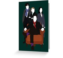 Consulting Detectives - Sherlock/Elementary Greeting Card