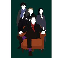 Consulting Detectives - Sherlock/Elementary Photographic Print