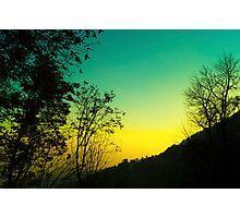 Twilight effect Photographic Print