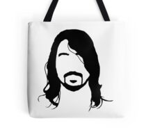 Dave Grohl's Beard Silhouette Tote Bag