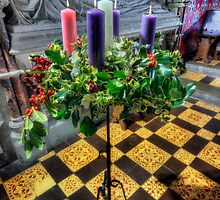 Advent Wreath by Ian Mitchell