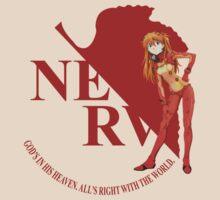 Asuka - Nerv - Neon Genesis Evangelion by LanFan