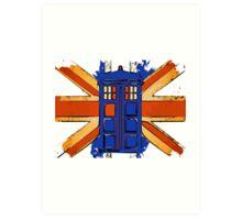Dr Who - The Tardis - Vintage Jack Art Print