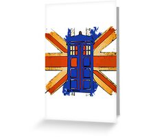 Dr Who - The Tardis - Vintage Jack Greeting Card