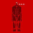 Shingeki No Kyojin - Santa Titan  by coffeewatson