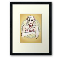 The Lady Griddlebone Framed Print