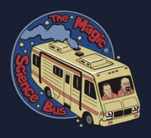 The Magic Science Bus by coinbox tees
