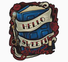 Hello Sweetie (sticker) by Ameda Nowlin