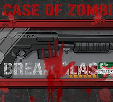 In Case Of Zombies Poster by GeekGamer
