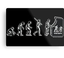 Gamer Evolution Poster Metal Print