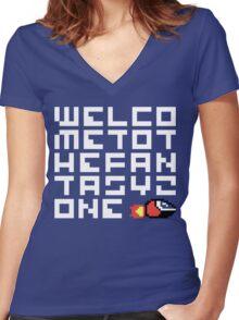 WELCO METOT HEFAN TASYZ ONE Women's Fitted V-Neck T-Shirt