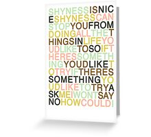 Ask - The Smiths Greeting Card