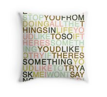 Ask - The Smiths Throw Pillow