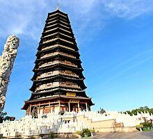 Tianning Pagoda, Changzhou, Jiangsu by DaveLambert