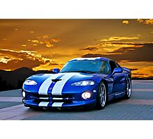 1996 Dodge Viper GTS II Photographic Print