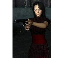 Lethal Assassin Photographic Print