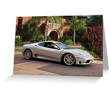 F430 Ferrari Stradale Greeting Card