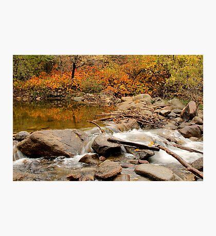Fall Creek Photographic Print