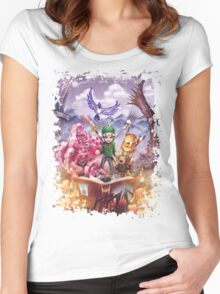 Jays Adventure Women's Fitted Scoop T-Shirt