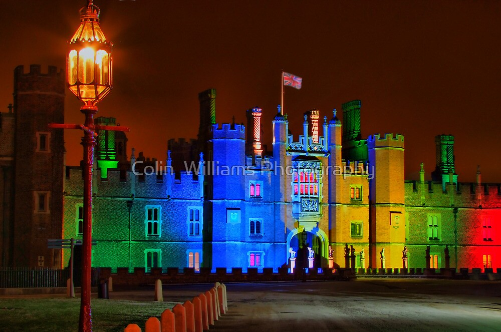 Hampton Court Palace at Christmas - HDR by Colin  Williams Photography