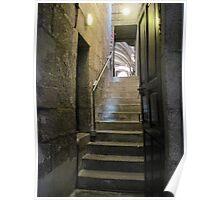 The Staircase Series:  Santiago de Compostela. Poster