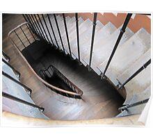 The Staircase Series:  Paris Apartment Poster
